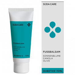 Süda Care Diabetisk Fodbalsam 75 ml.