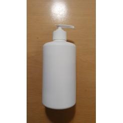 Flaske 500 ml. hvid