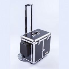 Kuffert til udebehandling, stor hjul, farve sort