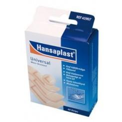 Hansaplast Water Resistent, plaster, vandtæt, 4 str. assorteret