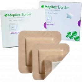 Mepilex border Skumbandage 7,5X7,5 cm.