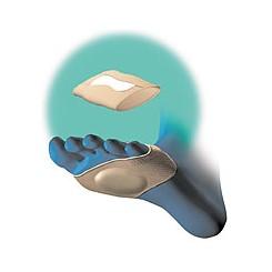 Tecnogel forfodspolster med bandage