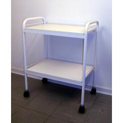 Klinikbord med 2 hylder