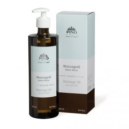 Pino Massageolie Kokos/Mint 500ml.