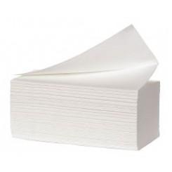 Håndklæderark 3-l Hvid Multifold pk. af 150 ark
