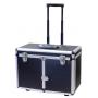 Kuffert til udebehandling på hjul, sort