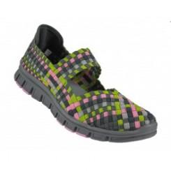 Mary Jane Stretch Sko multi farve