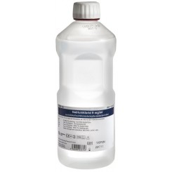 Saltvand, Natriumklorid, 0,9%, flaske, steril, 1000 ml