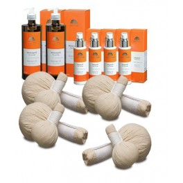 Chia Orange Massage Set