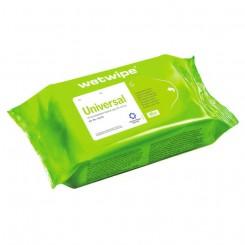 Wet Wipe Universal Mini krt. af 20 pk.20X30 cm.