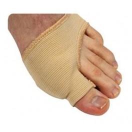 Knystbeskytter i gel med stoff small/medium stk.