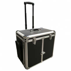 Kuffert til udebehandling på hjul