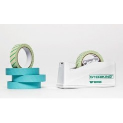 Steriking tape dispenser