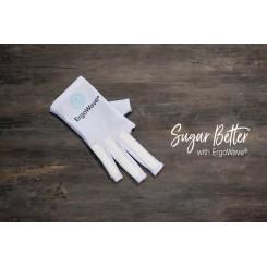 ErgoWave handske til venstre hånd - str. XS/S