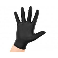 Nitril handske sort  100 stk. /æsk.
