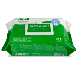 Clinell Universal Wipes 200 stk./UDSOLGT