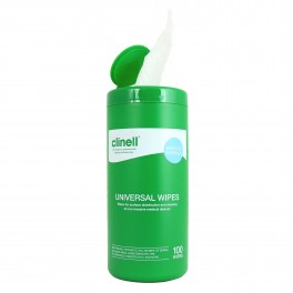 Clinell universal wipes 100 stk. i dåse