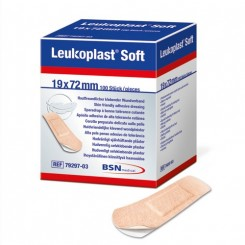 Leukoplast Soft 19mmX72 mm 100 stk.