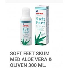 Soft Feet Skum med Aloe Vera & Oiven
