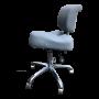 Ergo saddel stol med ryglæn