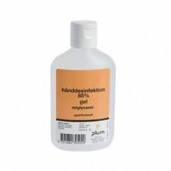 Hånddesinfektion gel Plum 85% ethanol med snaplåg 120 ml