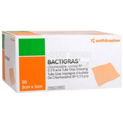 Bactigras 5X5 cm.