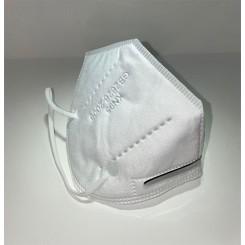 Mundbind med elastik hvid 10 stk. KN95