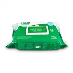 Clinell Universal Wipes pakke af 100 stk.