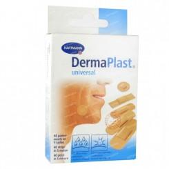 DermaPlast Sensitive, sårplaster, beige, 19x72mm