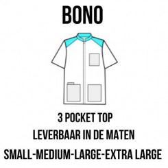 """Kittel """"BONO"""" med 3 lommer"""
