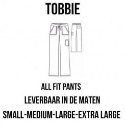 "Klinik Bukser ""TOBBIE"" hvid, Unisex"